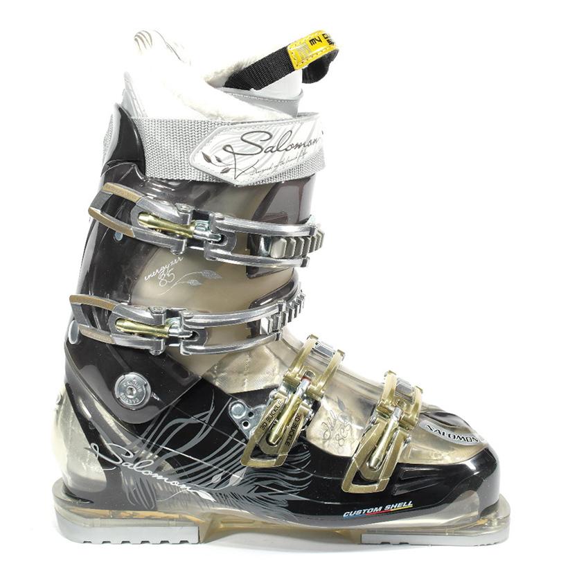 f19f188a870 Salomon Idol 8 cs dames skischoenen antraciet van skischoenen salomon dames  skischoen