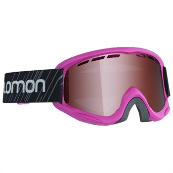 Salomon Juke Pink Junior skibril pink