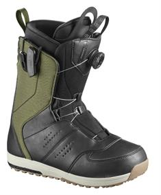 Salomon Launch boa SJ heren snowboardschoenen zwart