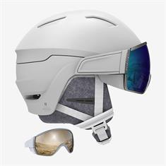 Salomon Mirage dames helm wit