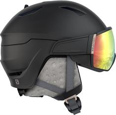 Salomon Mirage + Extra Lens dames helm zwart