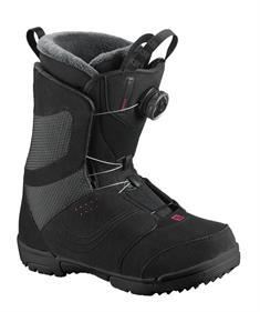 Salomon Pearl Boa 412 117 dames snowboardschoenen zwart