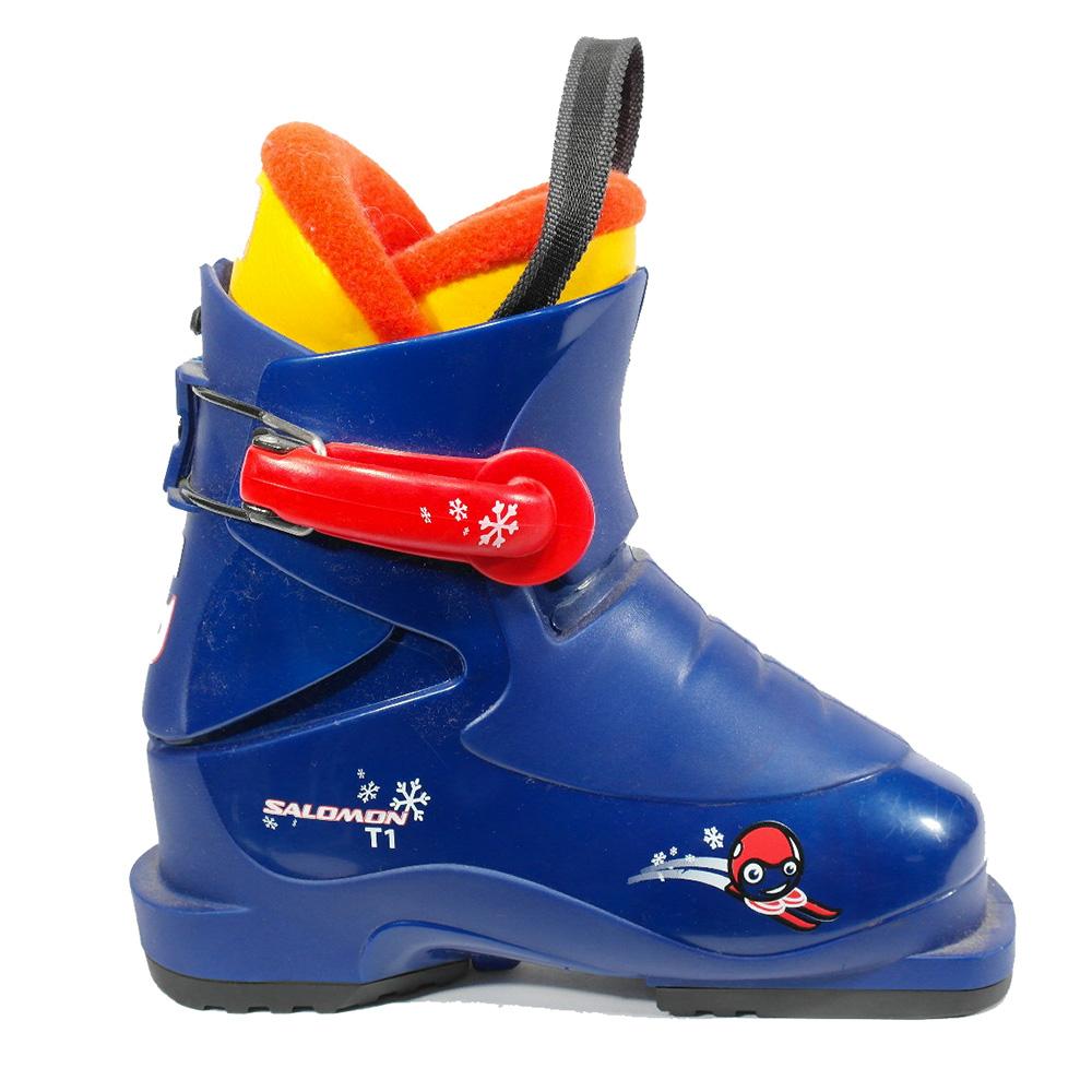 a88c873e7a3 Salomon Perf. T1 jr skischoen blauw van skischoenen