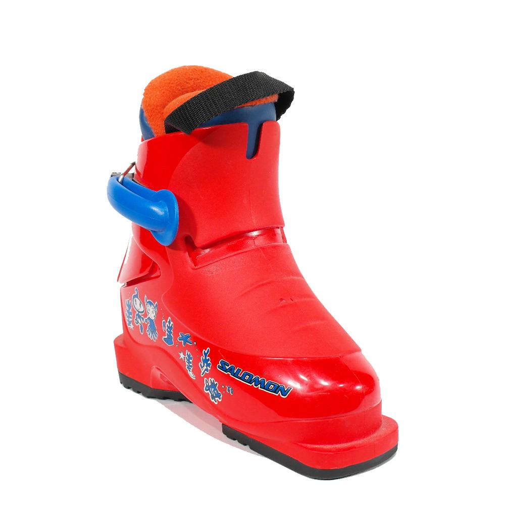 4bde15d7b84 Salomon Salomon T1 junior skischoenen rood Salomon Salomon T1 junior  skischoenen rood ...