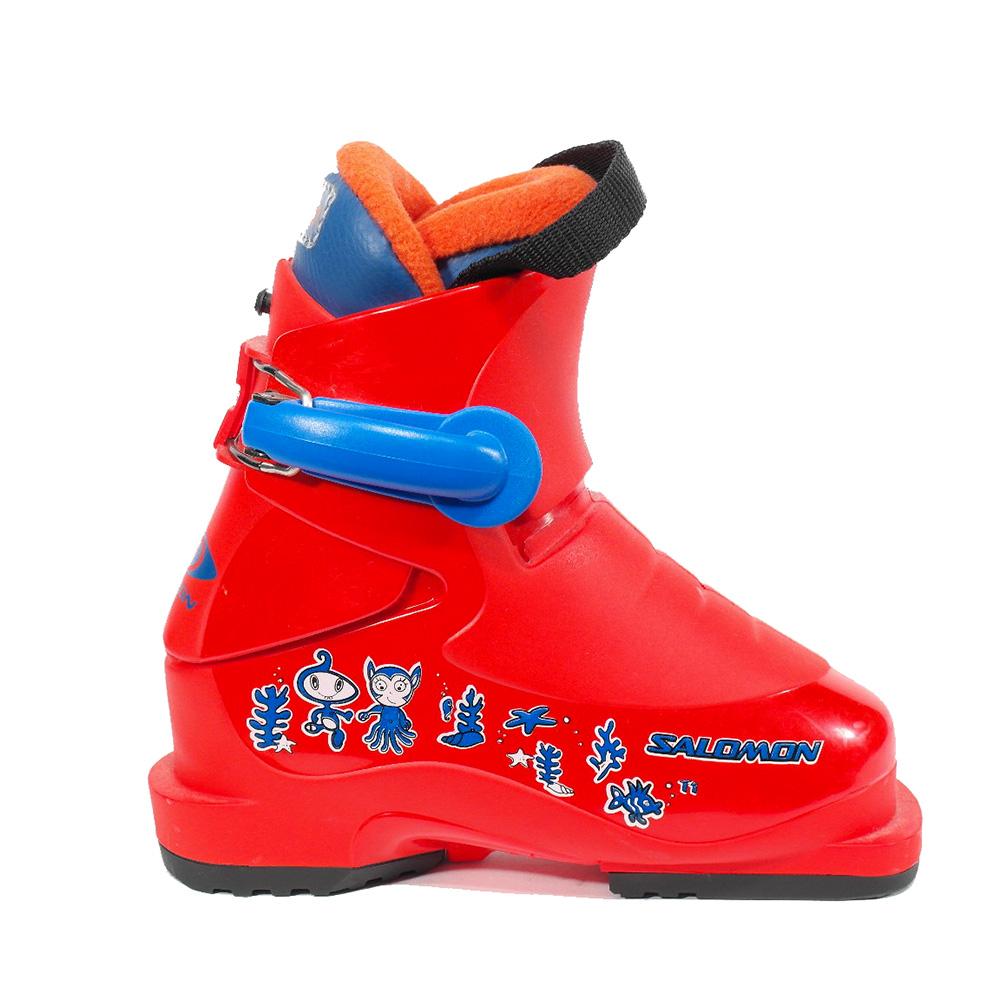 d9d5381ff18 Salomon Salomon T1 junior skischoenen rood van skischoenen
