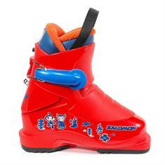 Salomon Salomon T1 junior skischoenen rood