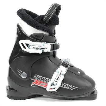 Salomon Team 2 Junior skischoenen ZWART