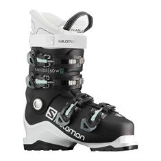 Salomon X Access 60 Wide 408 512 dames skischoenen zwart