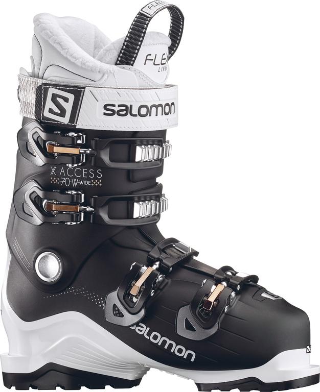 742139db812 Salomon X access 70 wide dames skischoenen zwart van skischoenen salomon  dames skischoen