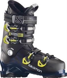 Salomon X Access 80 Wide heren skischoenen zwart
