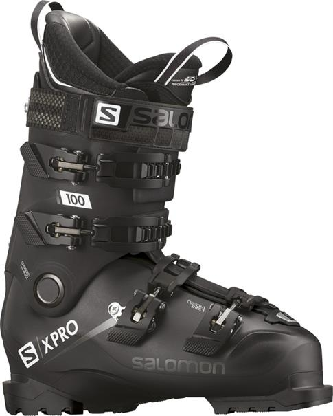 Salomon X Pro 100 heren skischoenen zwart