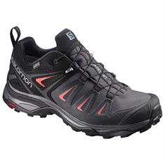 Salomon X Ultra 3 GTX Low W dames wandelsneaker antraciet