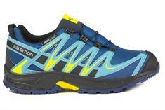 Salomon XA Pro 3D jr. wandelsneaker blauw