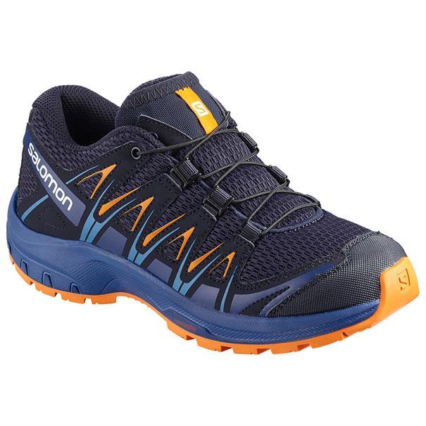 Salomon XA Pro 3D Junior jr. wandelsneaker blauw