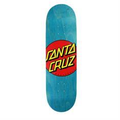 Santa cruz Classic Dot 8.5 skateboard deck marine