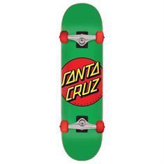 Santa cruz Classic Dot Mid skateboard complete groen