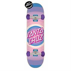 Santa cruz Gleam Dot 7.75 skateboard complete paars