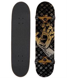Santa cruz Jackpot Hand Large 8.25 skateboard complete zwart