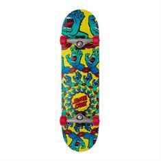 Santa cruz Mandala Hand Large 8.25 skateboard complete wit