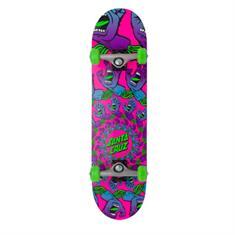 Santa cruz Mandala Hand Mini 7.75 skateboard complete pink