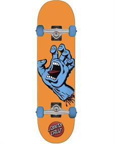 Santa cruz Screaming Hand Mid 7.8 skateboard complete oranje