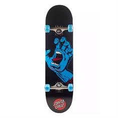 Santa cruz Screaming Hand skateboard complete zwart