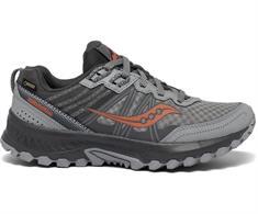 Saucony Excursion TR 14 GTX dames trail schoenen midden grijs