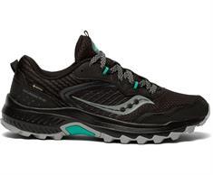 Saucony Excursion TR15 dames trail schoenen zwart