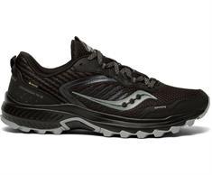Saucony Excursion TR15 heren trail schoenen zwart