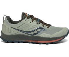 Saucony Peregrine 10 heren trail schoenen midden grijs