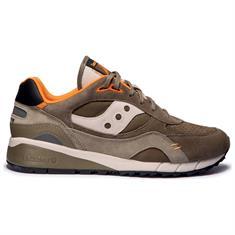 Saucony Shadow 6000 heren sneakers donkergroen