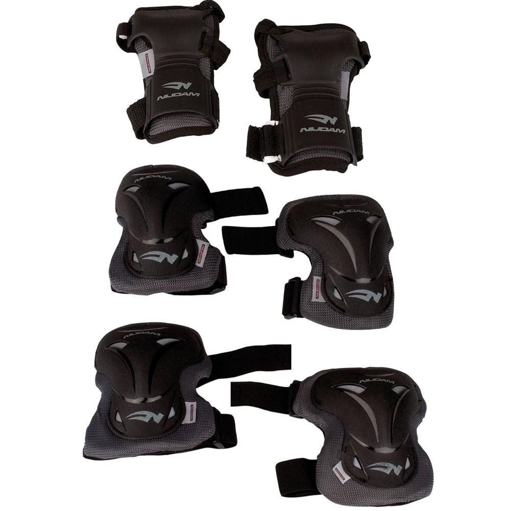 9d48ccdf6a1 Schreuders sport Beschermset deluxe beschermset zwart van bescherming