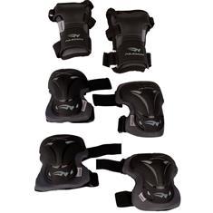 Schreuders sport Beschermset Deluxe beschermset zwart