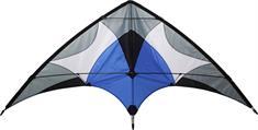 Schreuders Sport Stunt vieger +lijnen stuntvlieger blauw dessin