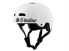 Shadow conspiracy Classic Gloss White youth bmx/skate helm wit