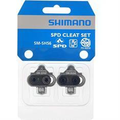 Shimano Schoenplaatjes SM-SH56 diversen fiets zilver