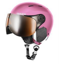 Sinner Beste Koop Typhoon + Vizier50 / 55  / 59 meisjes helm pink