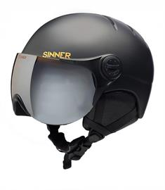 Sinner Crystel jr +vizier junior helm zwart