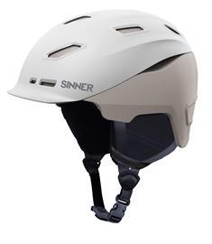 Sinner Moonstone Hybride 52 / 55 / 59 skihelm sr midden grijs