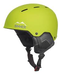 Sinner Poley Kids Junior helm donkergroen
