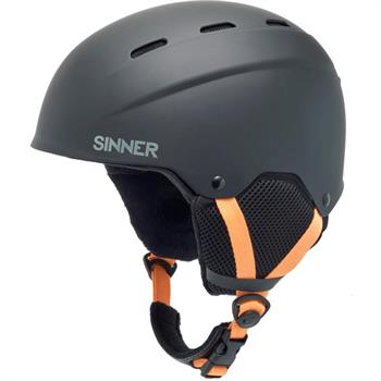 Sinner Poley Kids Junior helm ZWART