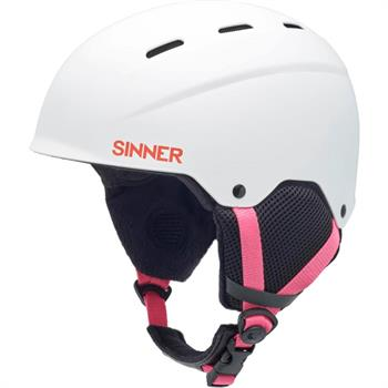 Sinner Poley Kids Meisjes helm WIT