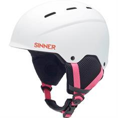 Sinner Prijs Topper Bingham Kids50-54 55-58 59-62 meisjes helm wit
