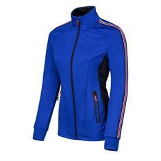 Sjeng Schalken dames sportsweater kobalt