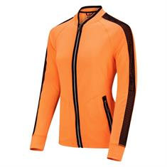Sjeng Schalken ValeryKeshia Full Zip dames sportsweater oranje