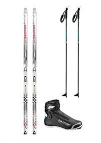 Ski verhuur langlauf set huren geen kleur