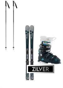 Ski verhuur ski set huren zilver zilver