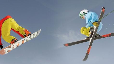 Skiën vs Snowboarden