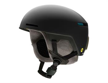 Smith Code Matte Black Skihelm SR ZWART