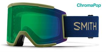 Smith Squad XL Goggle donkergroen